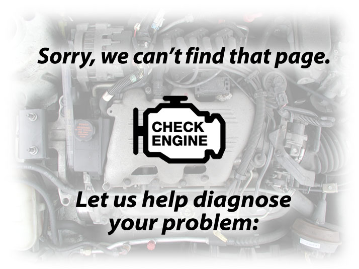 Sorry, we can't find that page. Let us help diagnose your problem: